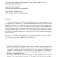 Labastía y Dabrowski - 2011 - Entonación y relevancia en el discurso hablado del.pdf