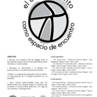 Actas en CD del II Congreso Nacional El Conocimiento como Espacio de Encuentro : recopilación de papers