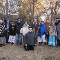 Estudiantes y docentes de la Cátedra Libre de Lengua y Cultura Mapuche