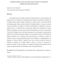 La producción del acento léxico del inglés como L2 : un análisis del aprendizaje en hispanoparlantes
