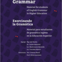 Exorcising Grammar : Material for Students of English Grammar in Higher Education